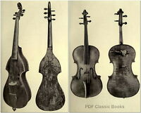 Violin Making, How to Play, Violinist Stories & Playing Secrets, 40 books on DVD