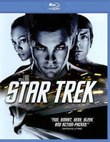 ✰SHIPS FREE/US✰ STAR TREK 2009 Blu-ray ✰New✰ Re-Boot w/Chris Pine + ULTRAVIOLET