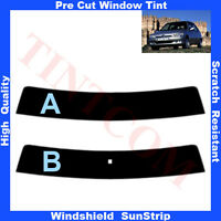 Pre Cut Window Tint Sunstrip for Peugeot 106 5Doors Hatchback 1996-2002 AnyShade