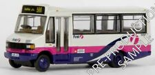 EFE 24818 Mercedes Plaxton Hoppa First Bus Halifax - 1/76 Scale - Boxed T48 Post