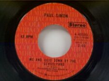 "PAUL SIMON ""ME AND JULIO DOWN BY THE SCHOOLYARD / CONGRATULATIONS"" 45"