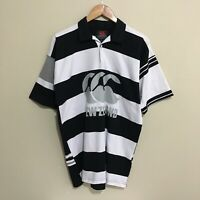 New Zealand All Blacks Canterbury Rugby Jersey Shirt Mens Medium