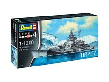 Maquette Revell 05822 1 1200 - Bâteau Tirpitz WWII