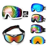 Ski Goggles Double Anti Fog Lenses Sun Glasses Eyewear For Men Women Kid Winter