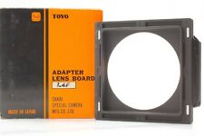 【Excellent+++++】Toyo field 45A Linhof Lens Adapter Board from Japan #311