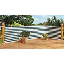 Flexible Outdoor Water Proof Two-Toned Privacy Deck Fence - Privacy Screen