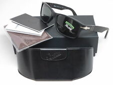 Persol PO 3154-S 1042/58 Matte Black Polarized Sunglasses 3154S 58mm