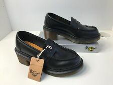 Dr. Martens Kizzy UK4 EU37 Black Smooth Leather Loafers Shoes New