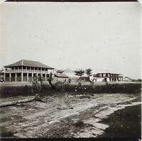 Africa Foto Placca Da Lente Stereo Positive D10 Vintage Ca 1910