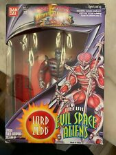POWER RANGERS EVIL SPACE ALIENS LOT LORD ZEDD INCLUDED NEW IN BOX