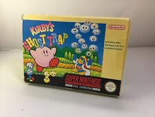 Kirby's Ghost Trap - Super Nintendo Entertainment System 1992 - BOXED & COMPLETE
