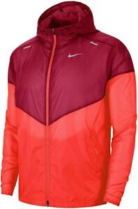 Nike Sportswear Windrunner Hooded Jacket-Sz XL men - Laser Crimson/ Noble Red