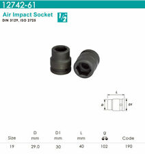 """Whirlpower - 1/2""""DR.x 19mm Air Impact Socket - Automotive Tools NEW"""