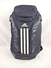 Adidas Backpack Black School Gym Workout Bag Trefoil Mesh Compartment