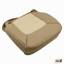 2003 - 2005 Ford Expedition Eddie Bauer Passenger Bottom Leather Seat Cover Tan