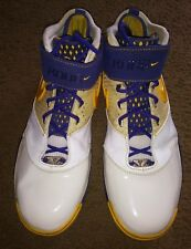 Kobe Bryant Shoes Los Angeles Lakers Colorway NBA Nike Zoom 2 II Finals Champs