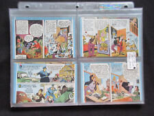 1944 W480 JIMMY HATLO Cartoon Mutoscopes Color Cards Complete Set (32) NM+