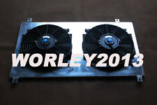 Aluminum shroud + fan for Toyota Supra JZA80 Turbo 1993-1998