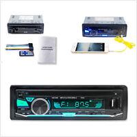 1Din Car Stereo Radio 12V Multifunction Bluetooth Vehicle MP3 Player FM AUX USB