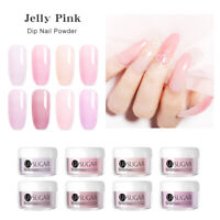 UR SUGAR 5ml Jelly Pink Dip Nail Powder Gradient French Dipping Dust Natural Dry