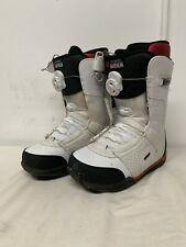 Ride anthem snowboard boots mens white Red Black size 8