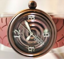 "Von Dutch 44 mm Oscuro Metálico Espiral Bronce"" ""Hecho en Suiza Reloj con etiqueta de $765.00"