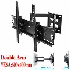 Full Motion SWIVEL TV Wall Mount Bracket 15 19 22 24 27 30 32 46 55 60 65 LED 3D