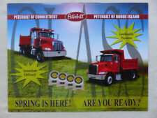 Peterbilt Truck Model 335 - US-Prospekt Brochure USA