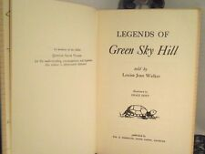 SIGNED Legends Of Green Sky Hill Native Chippewa Indians by Louise Jean Walker