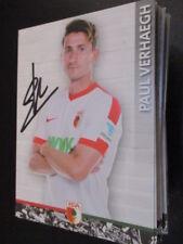 72870 Paul Verhaegh FC Augsburg 16-17 original signierte Autogrammkarte