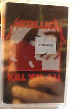Metallica Kill 'Em All Cassette Tape - New, Sealed  (U.S. Elektra Records) *read