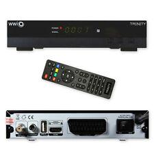 HD set récepteur satellite WWIO TRINITY USB PVR Unicable Media player 1080