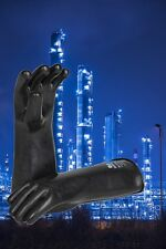 GUARDIAN GLOVE IBA-35 BUTYL CBRN GLOVES. ALL SIZES SAME PRICE. SMOOTH. STOCK.