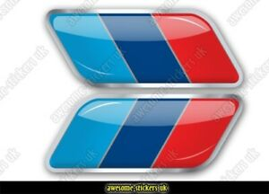 2 x flag stickers 007 fits all BMW cars decals vinyl X5 M1 M3 M-POWER