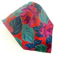 VTG NWT Men's Pierre Balmain 100% SIlk Made In Italy Necktie Floral