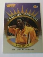2002 Topps Crowning Moments KOBE BRYANT card # CM5