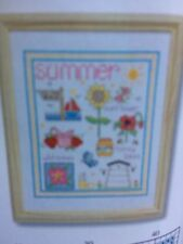 Summer fun cross stitch chart