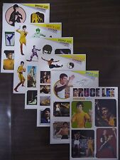 ULTRA RARE - Bruce Lee Sticker Set of 6 sheets