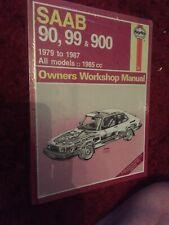 Saab 90, 99 & 900 Haynes  Workshop Service Repair Manual 1979-1987 (765)