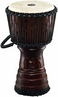 Meinl Percussion Tongo Carved 10 inch Djembe - Brown - DJTC1-M