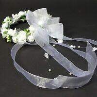 043 Haargesteck Kopfschmuck Kommunion Blumenmädchen Hochzeit Kommunionschmuck