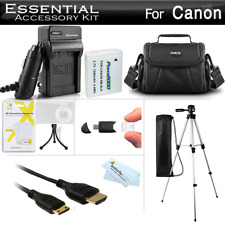 Essential Accessories Kit For Canon PowerShot SX500 IS, SX510 HS, SX520 HS