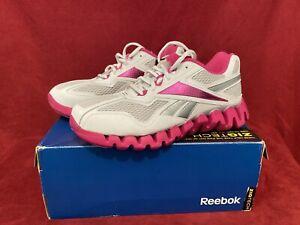 Reebok Zigtech ZIGENERGY Women's PINK Silver Running Shoes Size 7 NIB 2010