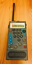RARE VINTAGE SONY AIR-8 AIRBAND 4 BAND SHORTWAVE SCANNER PSB FM AM AIR8 3UK POST