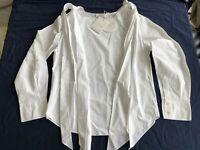 CHLOE Shirt White Long Sleeves NWT White Size Small Eur 36 Authentic $725