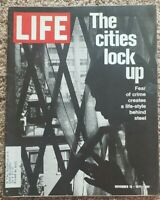 Life Magazine: November 19, 1971 The Cities Lock Up