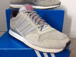 Adidas Zx 500 Grey Suede Zxz Adv Uk 9.5 US 10 Worn Once Super Originals With Box