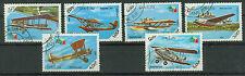 Briefmarken Laos 1985 Flugzeuge Mi.Nr.858-63