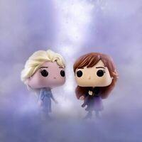 Funko 40884 POP Disney: Frozen 2 Elsa Anna 581 582