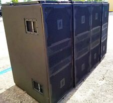 "JBL VERTEC 4880 DUAL 18"" SUBWOOFER LINE ARRAY ELEMENT (LOT OF 2)"